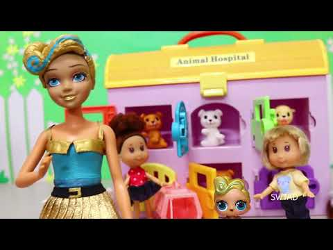 SWTAD LOL Families ! The Luxe Family Adopts a Pet | Toys and Dolls Pretend Play for Kids
