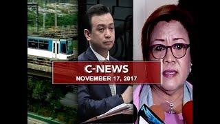 UNTV: C-News (November 17, 2017)