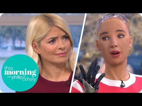 image for Phillip & Holly Interview This Morning's First Robot Guest Sophia