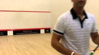 Ramy Ashour Prince TT Airstick 130 Squash Racket Review by PDHSports.com