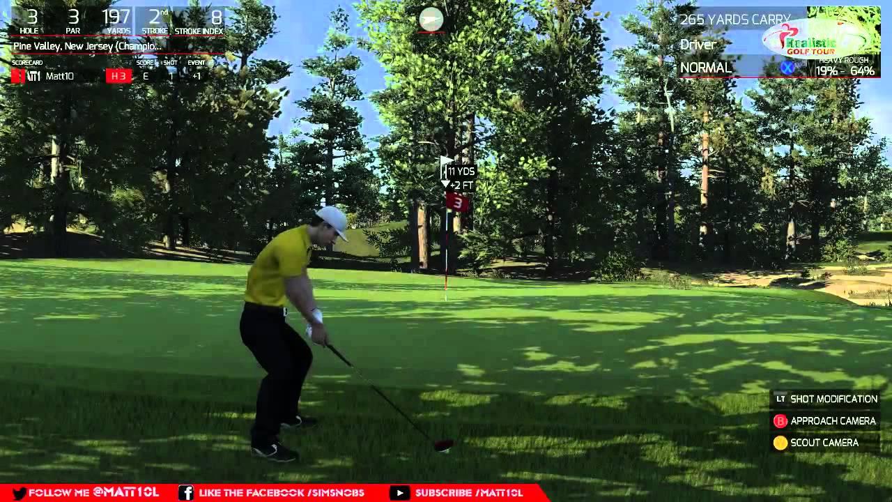 Golf Tour Streamed
