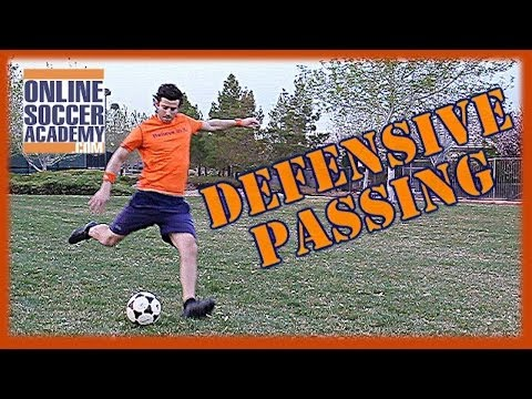 Advanced Defense ~ Passing Out of Pressure by Online Soccer Academy