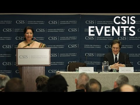 Statesmen's Forum: Her Excellency Nirupama Rao, India's Ambassador to the United States