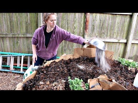 Planting the Keyhole Garden...Can Trash Grow Food?