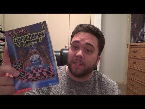 Give Yourself Goosebumps: It's Only A Nightmare! - Book Review