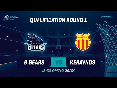 Bakken Bears v Keravnos - Qual. Rd. 1 - Full Game