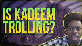 Is Kadeem Alford (KADEEM718) a troll - The WORST Player in League of Legends