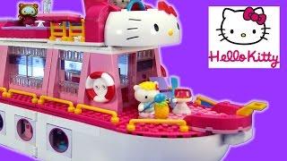 Mega Bloks Hello Kitty Cruise Ship Building Playset