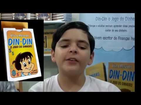 Educador financeiro de 12 anos lança jogo na #BienaldolivroSP Erico Metzner