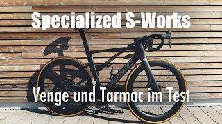 Gambar cover Sternenkreuzer – Specialized S-Works Venge und Tarmac im Test