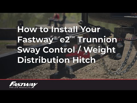 sway bar hitch hook up