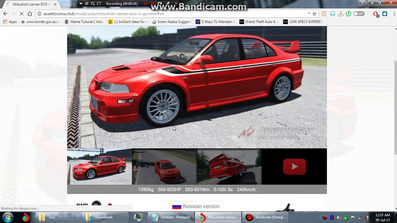 How to install car mods in assetto corsa