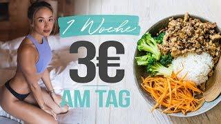 Ich esse EINE WOCHE lang für nur 3 € am TAG 🥗