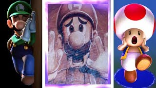 What Happens When You Get a Game Over in Luigi's Mansion 3? (All Game Over Scenes)