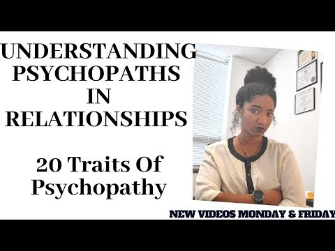 Male Psychopathy: Understanding Psychopaths In Relationships- Psychotherapy Crash Course