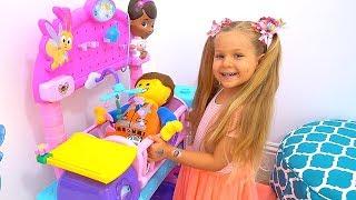 Muñecas y juguetes huyeron de Diana