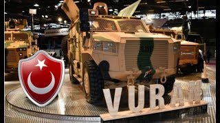 Mayın ve EYP Korumasına Sahip Zırhlı Araç