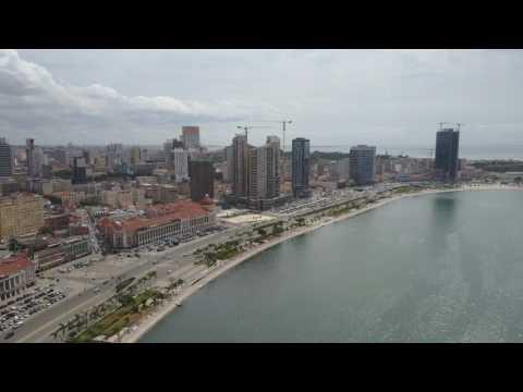 Mavic Pro - Luanda Bay @ Angola 4k RAW #01