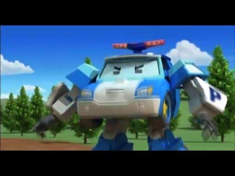 Робокар Поли - Трансформеры - Спуки и пчелиный рой (мультфильм 22)