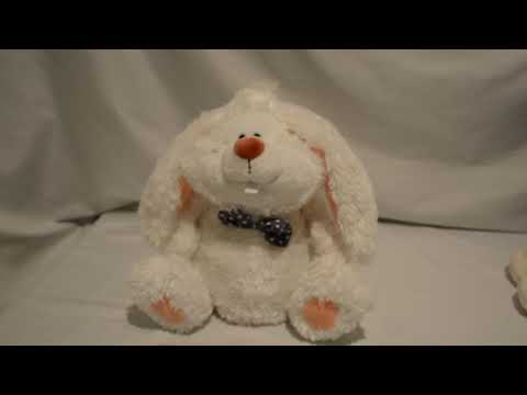 Gund Bunny Rabbit Bunnard 2003 Musical Animated Stuffed Animal