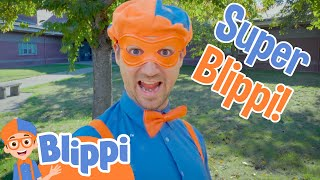 Download lagu Blippi's Halloween Costume | Super Blippi! | Halloween Videos For Kids