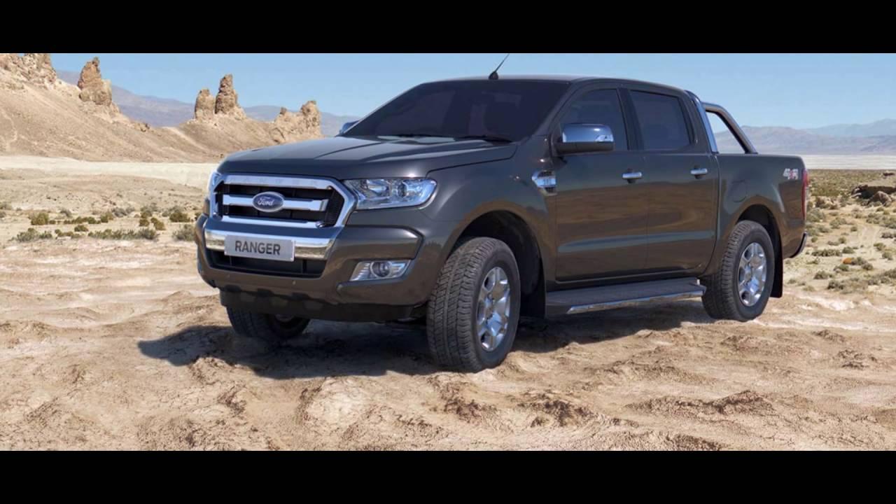 2016 Ford New Ranger Sea Grey