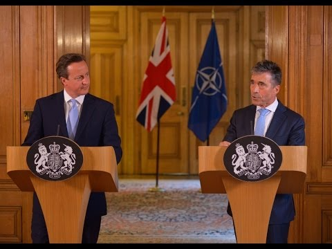 NATO Secretary General with Prime Minister of the United Kingdom - Joint Press Point, 19 June 2014