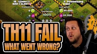 Clash of Clans: MY TH11 FAIL! Must... Redeem... Myself...