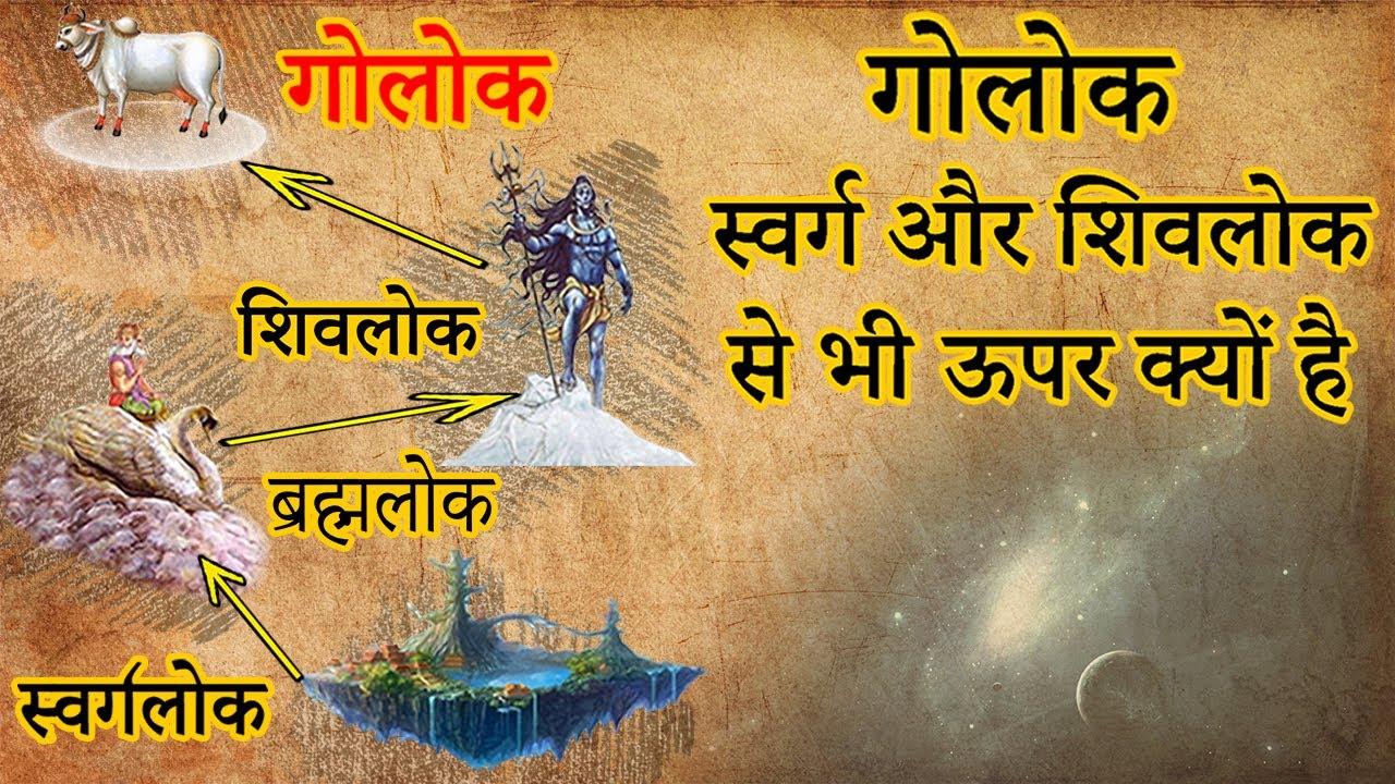 गोलोक समस्त देवताओं और लोकपालों के ऊपर क्यों है | गोलोक - स्वर्ग और शिवलोक से भी ऊपर क्यों है |