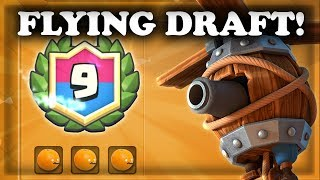 Flying Machine Draft Challenge! | Clash Royale