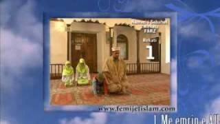 Falja e namazit ne praktike - Namazi i Sabahut