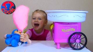 Делаем сладкую вату из сахара Видео для детей