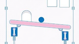 Шар на подъемнике (Elevator Ball) // Геймплей