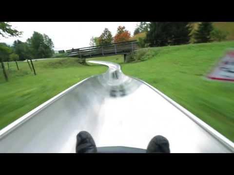 Fastest Alpine Slide Time - Bavaria, Germany