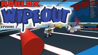 MF DOUBLE WIN   Roblox Wipeout   Episode 2