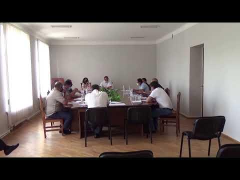 Եղվարդ համայնքի ավագանու նիստ 19․06․2020թ