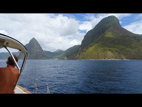 HR54 Cloudy Bay - sailing St. Lucia, Mar 2018