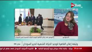 د. هبة البشبيشي: وثيقة القاهرة لتوحيد الحركة الشعبية لتحرير السودان إنجاز تاريخي للدولة المصرية