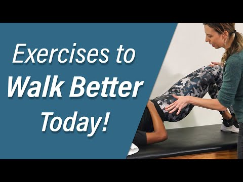Exercises to Help You Walk Better! (Walk Talk Episode 4)