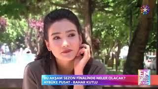 Aybuke Pusat röportajı sezon finali .
