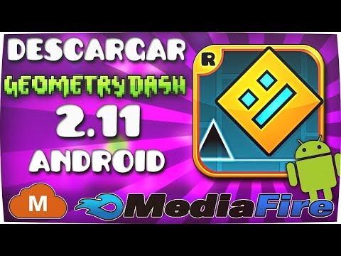 Descargar Geometry Dash 2.11 2.100 Y 2.2 APK  Última Versión Android