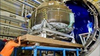 Composite Crew Module (CCM) VacuumTest