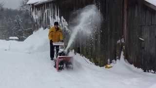 MTD 611D - freza za snijeg
