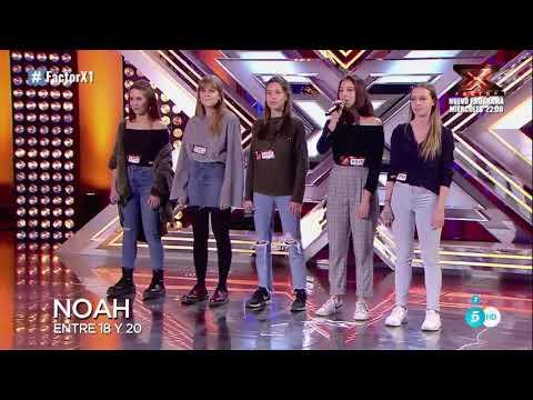 😍😱Factor X España 2018 Las Chicas de Noah Arrasan en sus Audiciones 😍😱