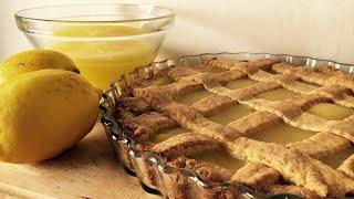Homemade Lemon Curd Tart Recipe