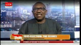 Jega's Tenure: Nigerians Should Listen To Jonathan Only - Peter Obi Pt.3