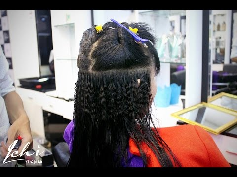 Dịch vụ nối tóc công nghệ Fiberglass tại Ichi Hair Salon 71 Đại La