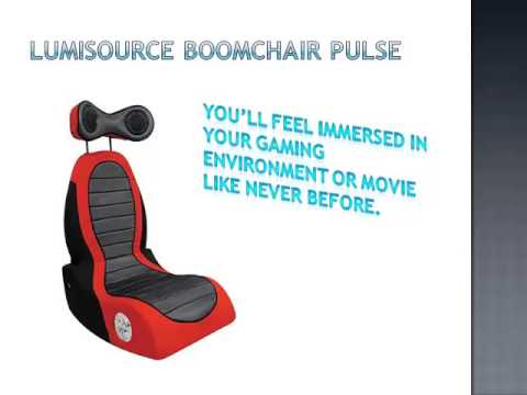 Lumi Source Boom Chair Pulse Chair   YouTube
