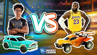 RLCS Pros vs HOOPS Pros...Who's Better?