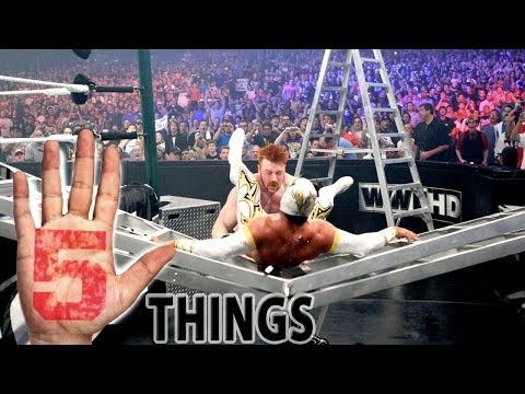 5 Incredible Money in the Bank Matches - 5 Things